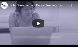 live online course smiling student
